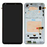 Дисплей (экран) для LG H930 V30/H931/H933/VS996/US998 с сенсором (тачскрином) и рамкой черный Оригинал