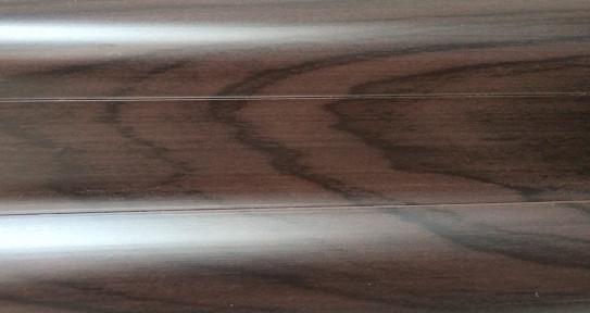 Плінтус під проводку з резинкою TIS Венге 2,5м(4) ПП