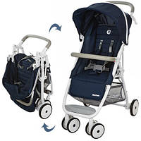 Детская прогулочная коляска-книжка EL CAMINO MOTION M 3295-4 синяя