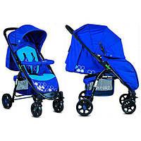 Прогулочная коляска Bambi M 3409-4-2 синяя