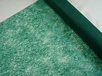 Флизелин на метраж,цвет зеленый изумруд,шириной 50 см