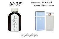 Женские наливные духи Pure White Linen Estee Lauder