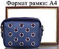 Женская сумка-клатч ETERNO ETZG29-17-6, искусственная кожа, синий, фото 7