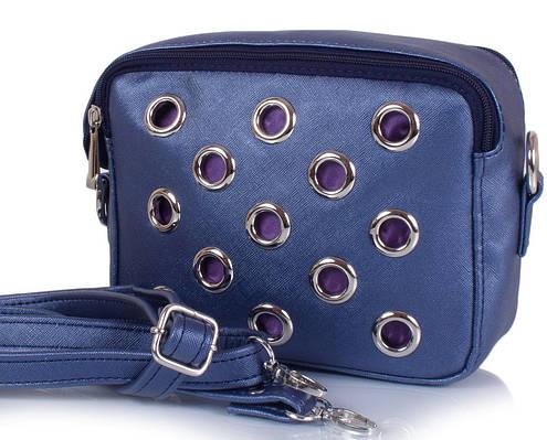 Женская сумка-клатч ETERNO ETZG29-17-6, искусственная кожа, синий