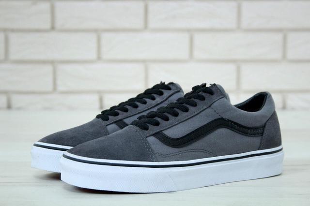 Vans Old School Black Grey Black