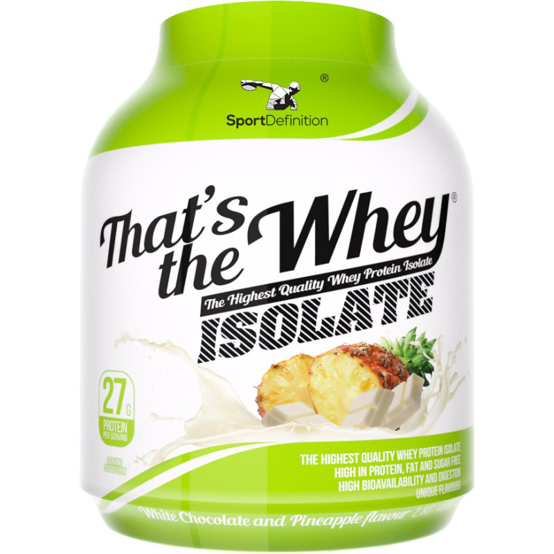 SPORTDEFINITION That's The Whey ISOLATE 600 g