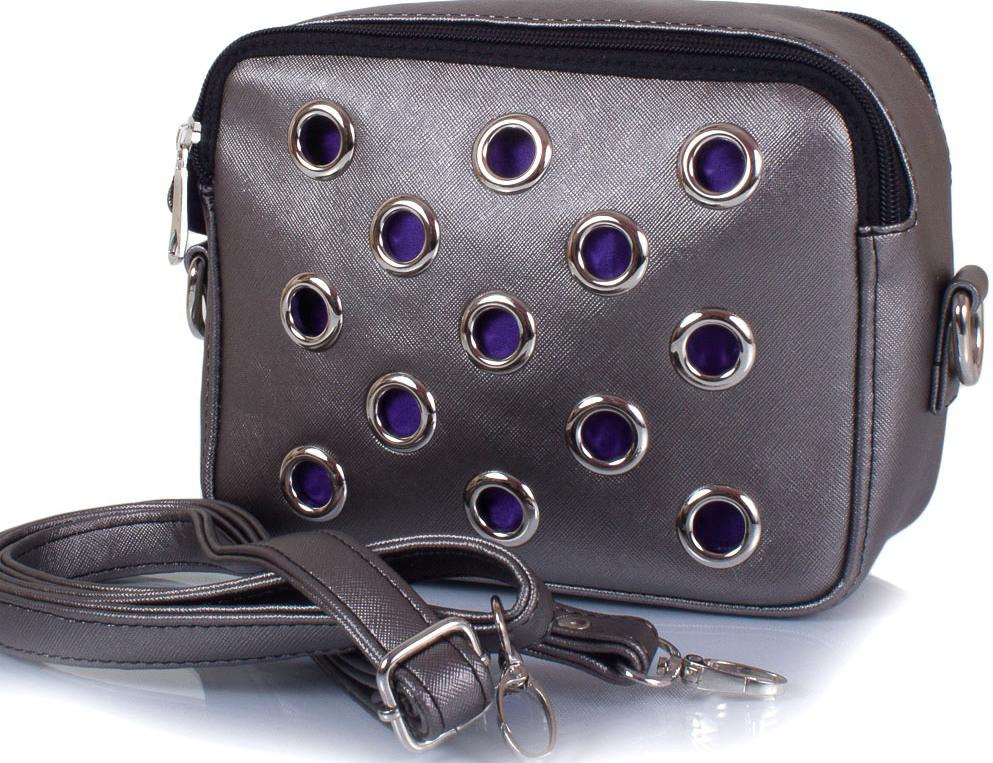 Женская сумка-клатч ETERNO ETZG29-17-21, искусственная кожа, серый