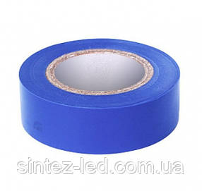 Изоляционная лента ПВХ RIGHT HAUSEN HN 05.1.01.4 синяя (9м) Код.58681
