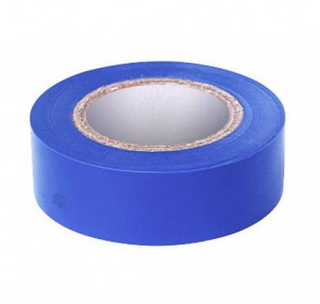 Изоляционная лента ПВХ RIGHT HAUSEN HN 05.1.01.4 синяя (9м) Код.58681, фото 2