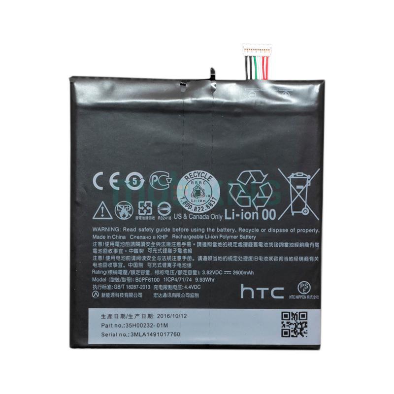 Оригинальная батарея HTC Desire 820 (BOPF6100) для мобильного телефона, аккумулятор.