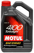 Motul 4100 TURBOLIGHT 10W-40 (4L)