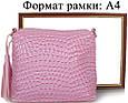 Сумка-клатч из эко кожи ETERNO ETZG08-17-13, женская, розовый, фото 7
