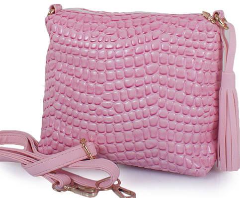 Сумка-клатч из эко кожи ETERNO ETZG08-17-13, женская, розовый