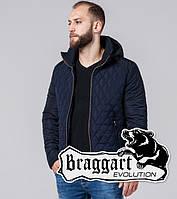 Braggart 2686 | Мужская стеганная куртка темно-синяя