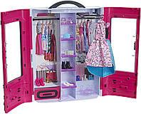 Игровой набор шкаф чемодан для Барби с одеждой Barbie Fashionistas Ultimate Closet Днепр