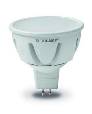 Світлодіодна лампа Eurolamp TURBO LED-SMD-05533 5W MR16 GU5.3 3000K 12V Код.58914