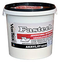 "Fastech ""Vartex"" - фасадная акриловая декоративная штукатурка короед 1,5мм, 2мм, 2,5мм"
