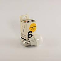 Светодиодная лампа DAYON EMT-1715 G45 6W 3000K E27