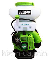 Мотоопрыскиватель BIZON 3WF-3, с обычным управлением и дуйкой ( БИЗОН )