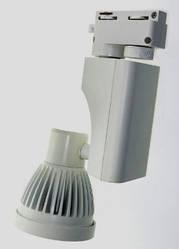 Светодиодный трековый светильник 7W TR7KB-WW 3000К конический белый Код.57959