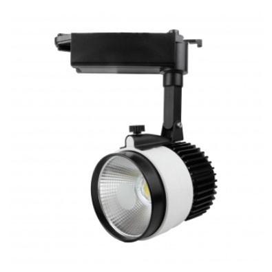 Світлодіодний світильник трековий D30Н 30W 3200K Код.57979