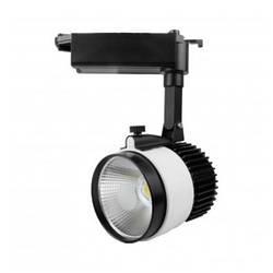 Светодиодный трековый светильник D30Н  30W 3200K Код.57979