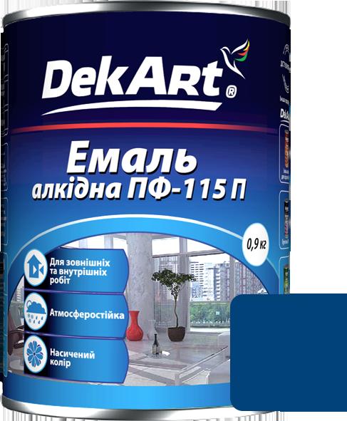 Емаль DekArt ПФ-115П синя (2.8 кг)