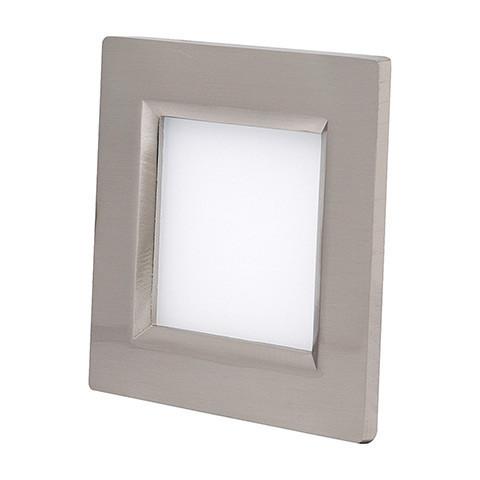 Светодиодный светильник Horoz (HL685L) 12W IP20 3000K квадрат мат.хром (потолочный) Код.56831