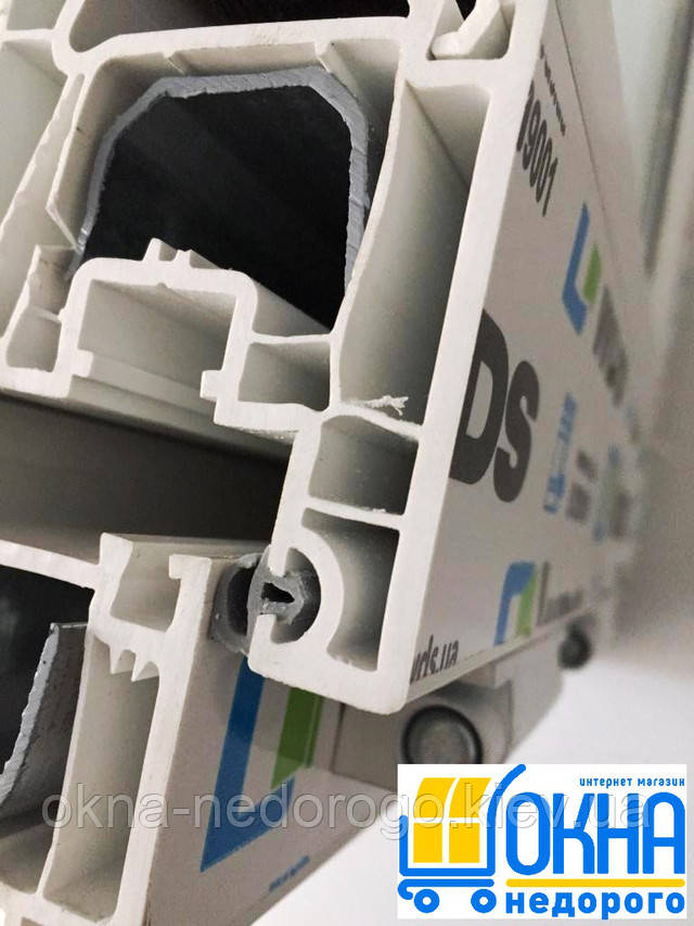 Четырехкамерные окна пластиковые WDS 400