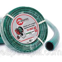 Шланг для полива 1/2 30 м 3-х слойный армированный PVC Intertool GE-4025