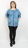 Женский пиджак, 50-56 размера