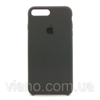 Силиконовый чехол iPhone 7 Plus/8 Plus (Тёмно-серый). Apple silicone case