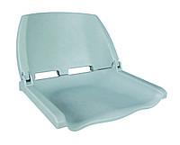 Сиденье для лодки, катера складное пластиковое 75110G серое
