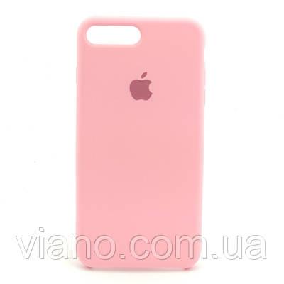 Силиконовый чехол iPhone 7 Plus/8 Plus (Розовый). Apple silicone case