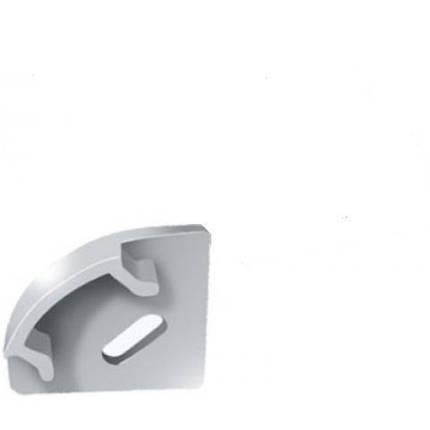 Торцевая заглушка ЗПУО 17*17 угловая с отверстием Код.56665, фото 2