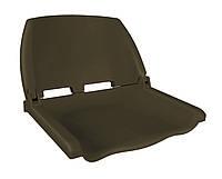 Сиденье для лодки, катера складное пластиковое 75110BRN коричневое
