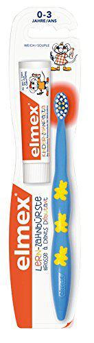 Elmex Lern - Мягкая зубная щетка для детей 0-3 лет