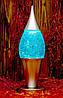 Светильник гелевый Купол (бирюзовый)