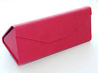 Компактный чехол-трансформер для очков, ярко розовый  - помещается даже в карман