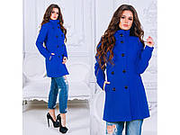 Женское кашемировое пальто Пуговицы 515, фото 1