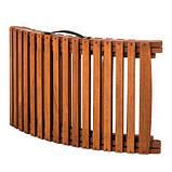 ЕВКАЛІПТ. Розкладний дерев'яний шезлонг + матрац, фото 2