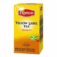 Чай Lipton Yellow Label (Черный классический) 25*2г.