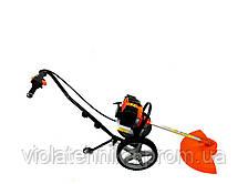 Ручная косилка на колесах GrunWelt GW-140HP