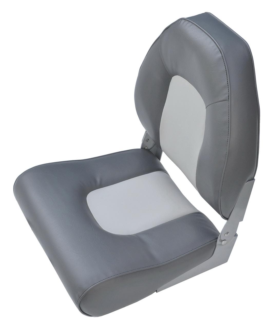Сидіння для човни, катери складне 75116GC High Back сіро-вугільне