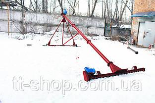 Шнековый погрузчик ø 108*8000*380В с подборщиком 2 000 мм., фото 2