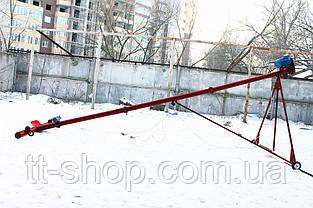 Шнековий навантажувач ø 159*5000*380В з підбирачем 2 000 мм., фото 2