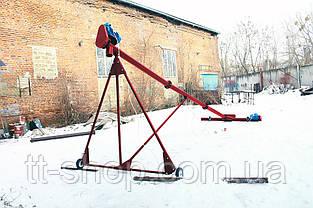 Шнековий навантажувач ø 159*5000*380В з підбирачем 2 000 мм., фото 3
