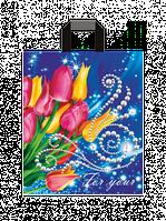 Полиэтиленовые пакеты с петлевой ручкой 25x30 см / (уп-25 шт)