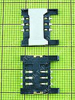 Коннектор SIM карты FLY EZZY 4 Оригинал