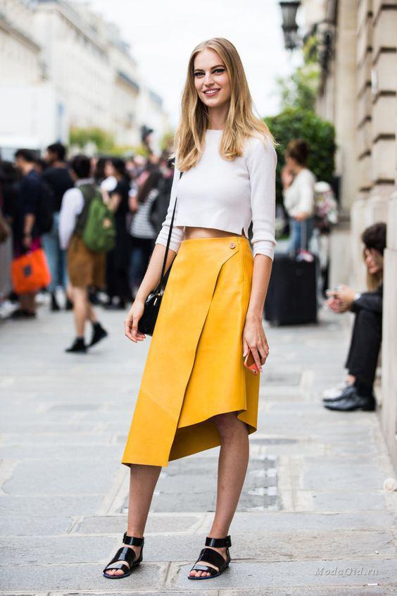 ассиметричная юбка 2018
